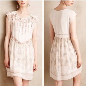 One September calliope embroidered dress NWOT